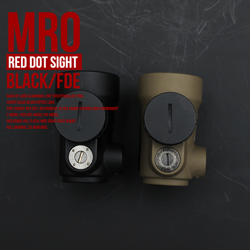 MOA Adjustable Red Dot